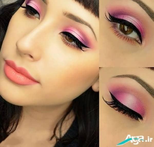 آرایش چشم ریز بسیار زیبا