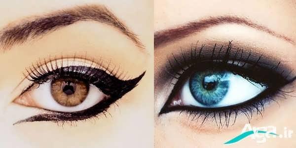 مدل مناسب کشیدن خط چشم
