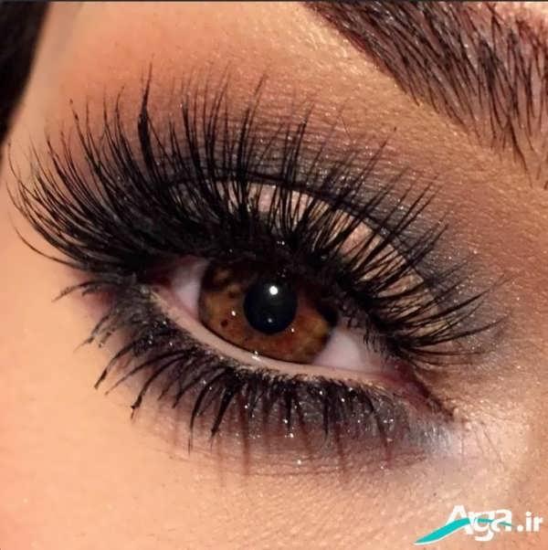 مدل بسیار جذاب آرایش چشم