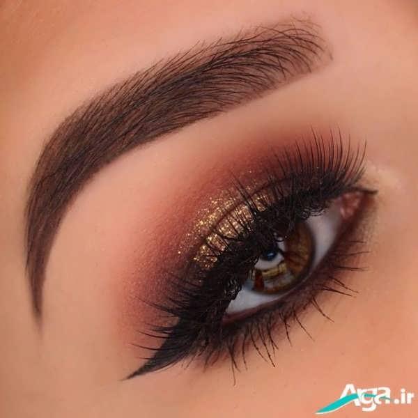 مدل آرایش چشم ریز بسیار زیبا2016