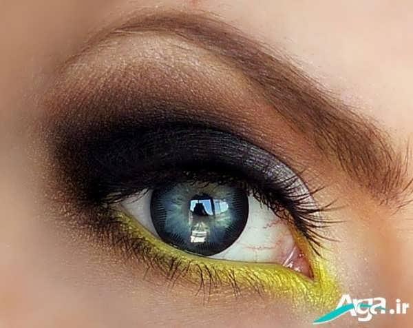 مدل آرایش چشم ریز بدون مژه مصنوعی