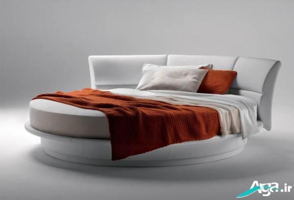تخت خواب دو نفره گرد