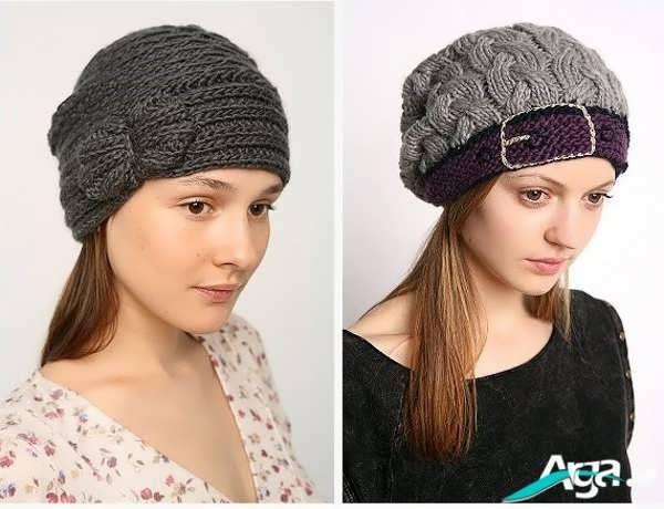 مدل کلاه دخترانه برای زمستان 1394