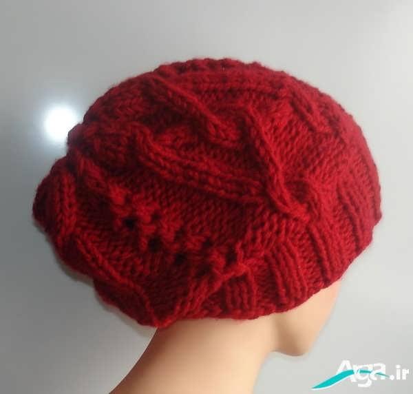کلاه دخترانه با بافتی جذاب