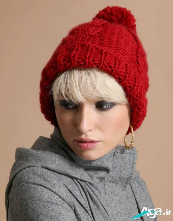 مدل کلاه بافتنی دخترانه ویژه زمستان 2016