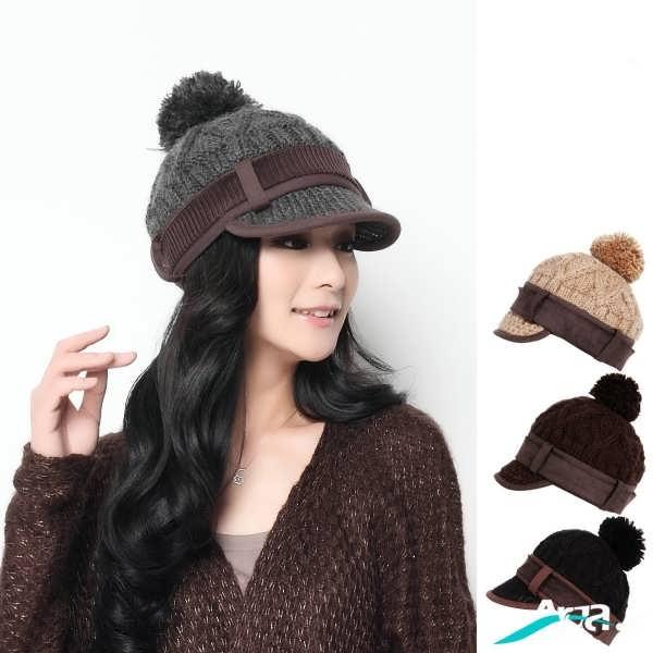 جدیدترین مدل های کلاه بافتنی