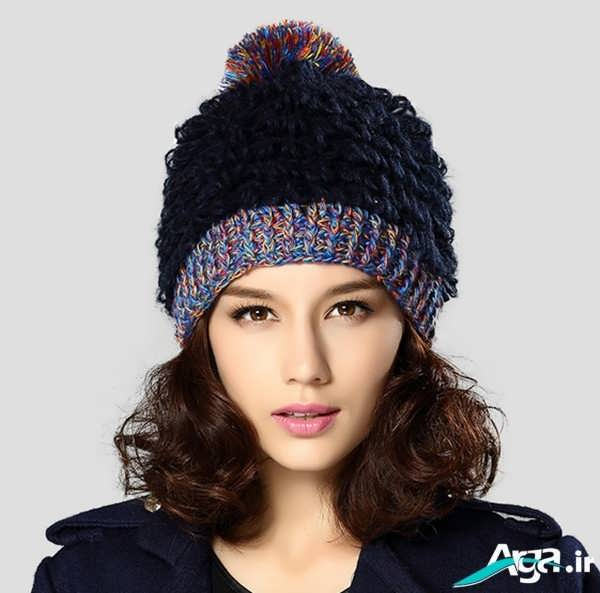 مدل کلاه بافتنی دخترانه ویژه زمستان 94
