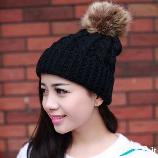 Models knitted hats for girls (2)