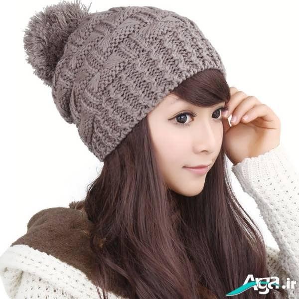 کلاه بافتنی برای دختران