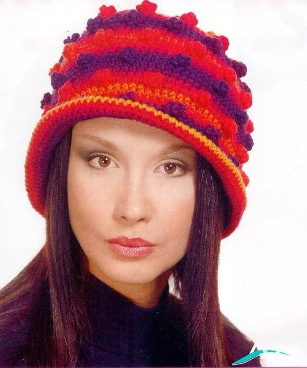 مدل کلاه دخترانه بافتنی 2016