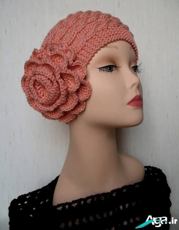 کلاه بافتنی دخترانه 1394