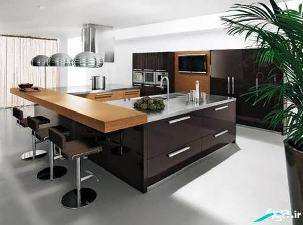 آشپزخانه مدرن و لوکس