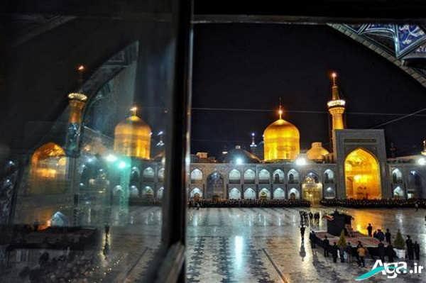 تصاویر زیبا و جدید حرم امام رضا