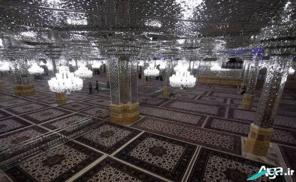 عکی داخل حرم امام رضا