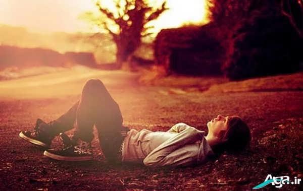 عکس جدید تنهایی و جدایی