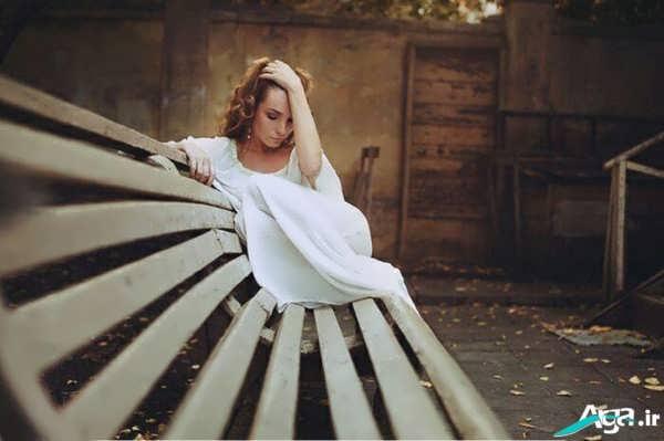 تنهایی دختر
