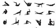 تمرین ها و حرکات پیلاتس