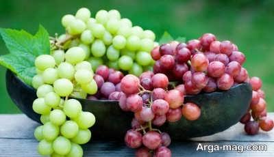 خواص انگور و فواید مصرف آب انگور