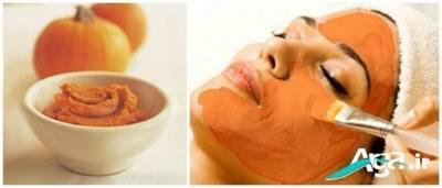 فواید کدو حلوایی برای پوست