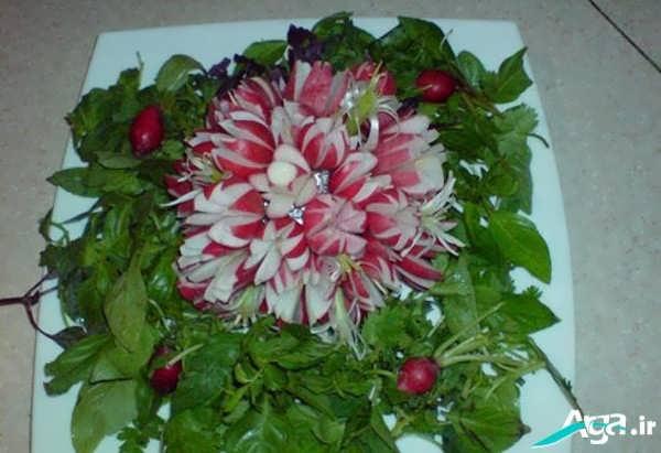 تزیینات سبزیجات جدید