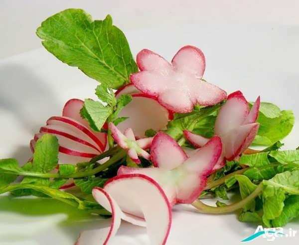 تزیین سبزیجات