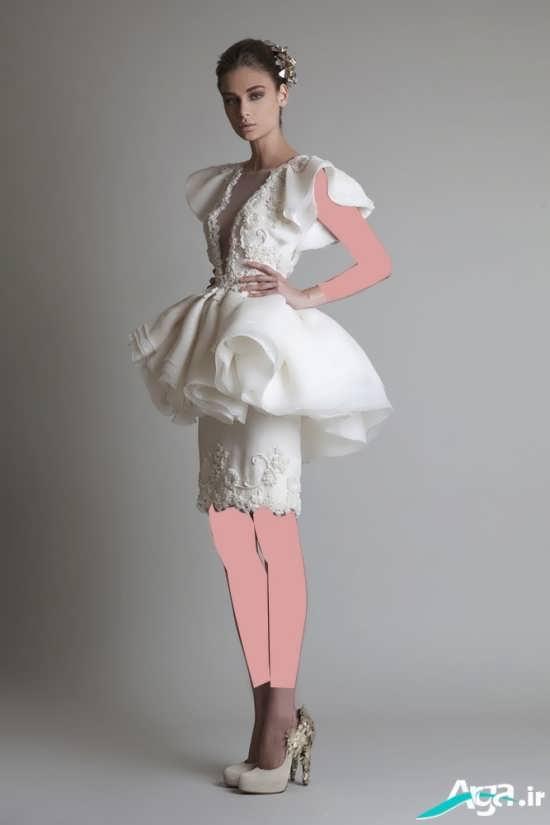 مدل جدید و مدرن لباس عروس