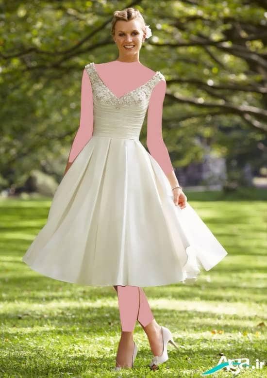 انواع مدل های جدید لباس عروس