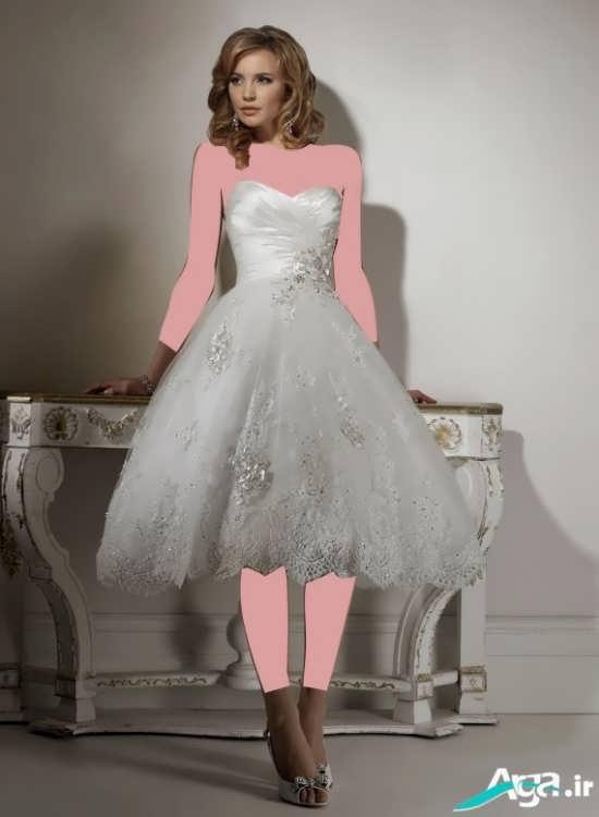 لباس عروس با طرحی متفاوت