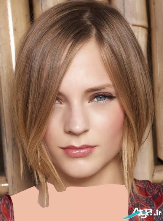 مدل بسیار زیبا و جذاب برای موهای کم پشت