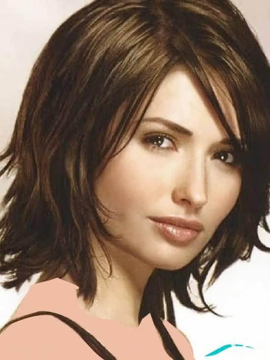مدل مو با رنگ بسیار زیبا و تیره