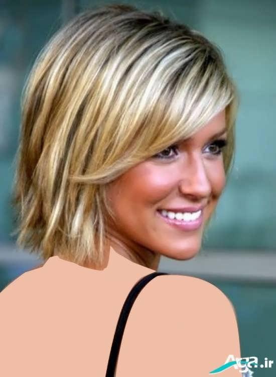 مدل مو بسیار زیبا برای موهای کم پشت