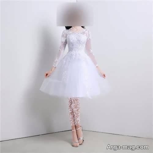 لباس عروس شیک و کوتاه