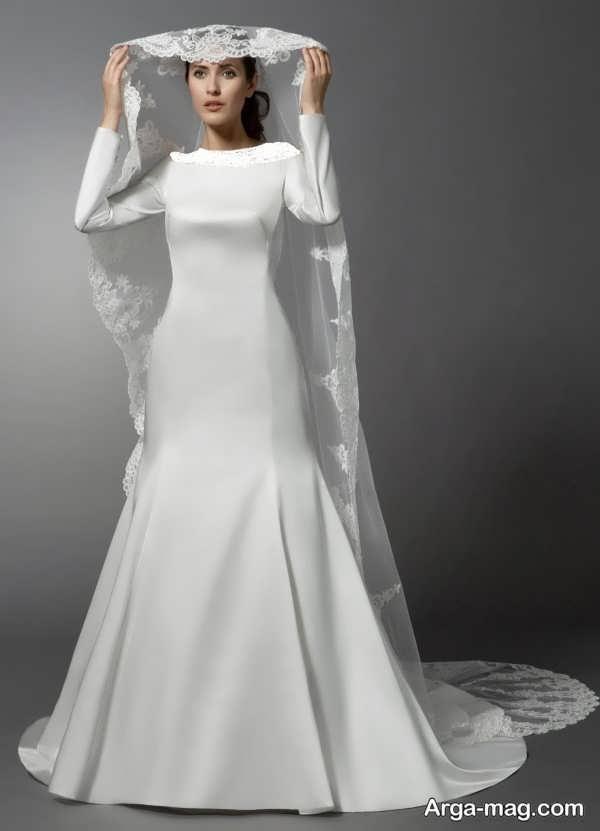 مدل زیبای لباس عروس معمولی