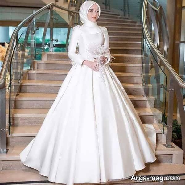 عالی ترین لباس عروس ساده