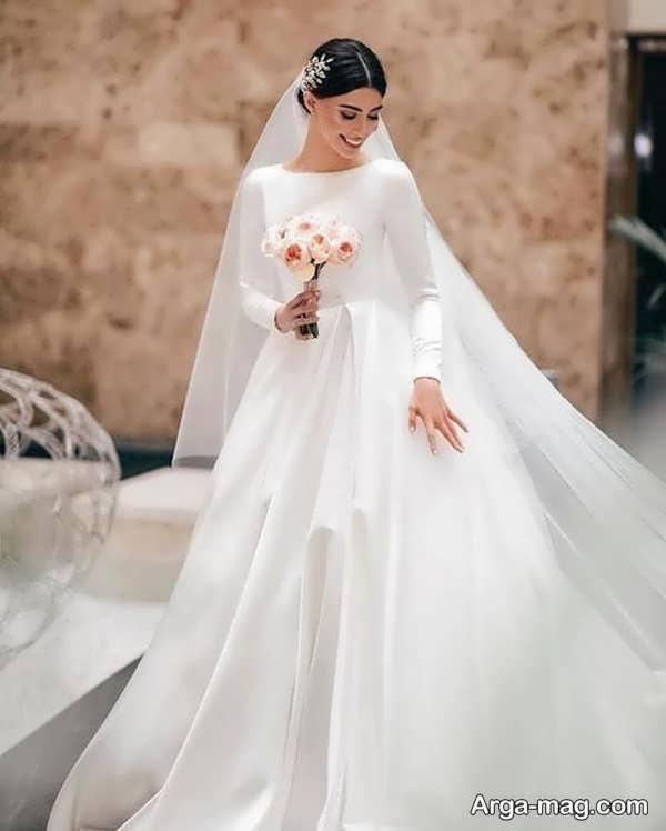 مدل دوست داشتنی لباس عروس معمولی
