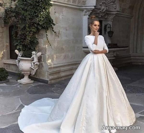 مدل عالی لباس عروس معمولی