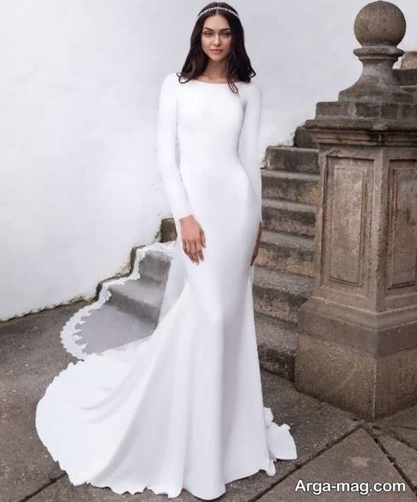 لباس عروس معمولی قشنگ