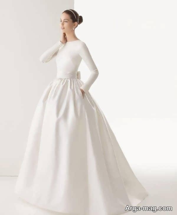 مدل خاص لباس عروس معمولی