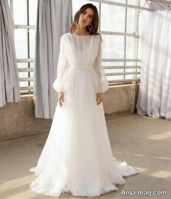 لباس عروس معمولی بی نظیر