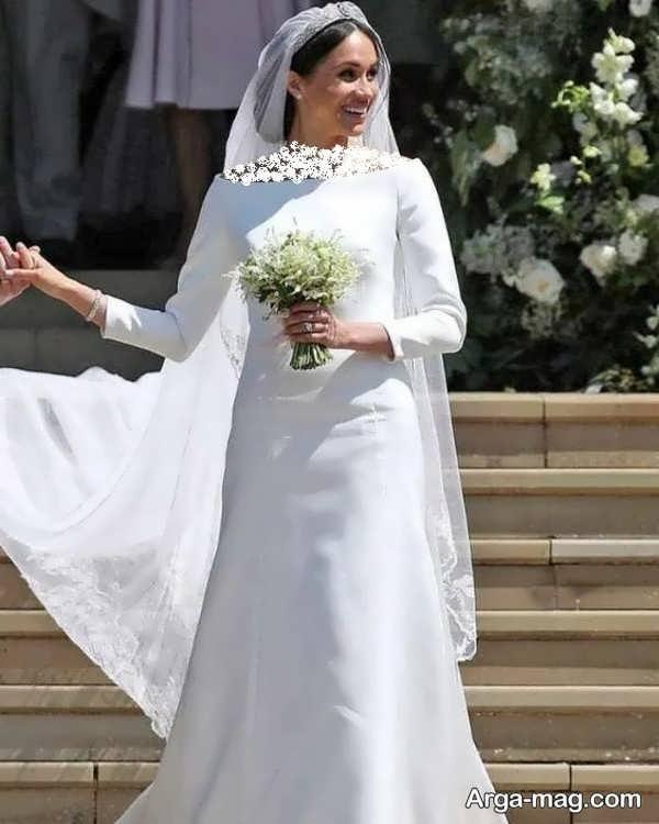 لباس عروس معمولی دوست داشتنی