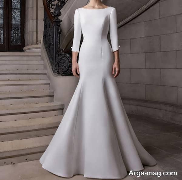 قشنگ ترین لباس عروس ساده