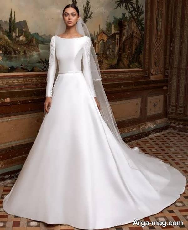 لباس عروس معمولی دیدنی