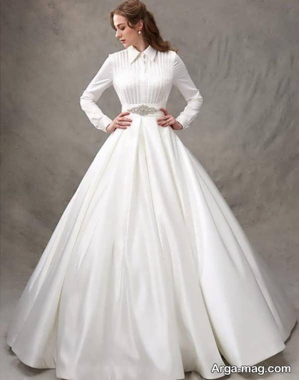 لباس عروس معمولی به روز