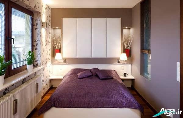 چیدمان اتاق خواب کوچک