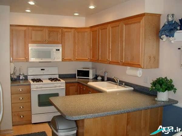 چیدمان داخلی آشپزخانه کوچک