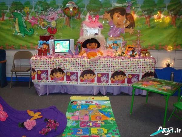 تزیینات تولد دخترانه