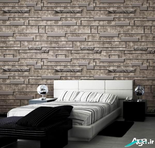 کاغذ دیواری سه بعدی اتاق خواب