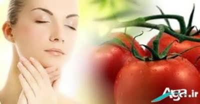 ماسک گوجه فرنگی مناسب برای پوست
