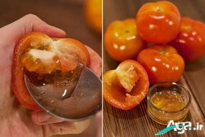 ماسک گوجه فرنگی با خاصیت روشن کننده