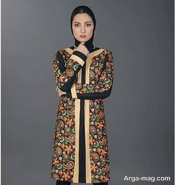 مدل مانتوی سنتی زیبا